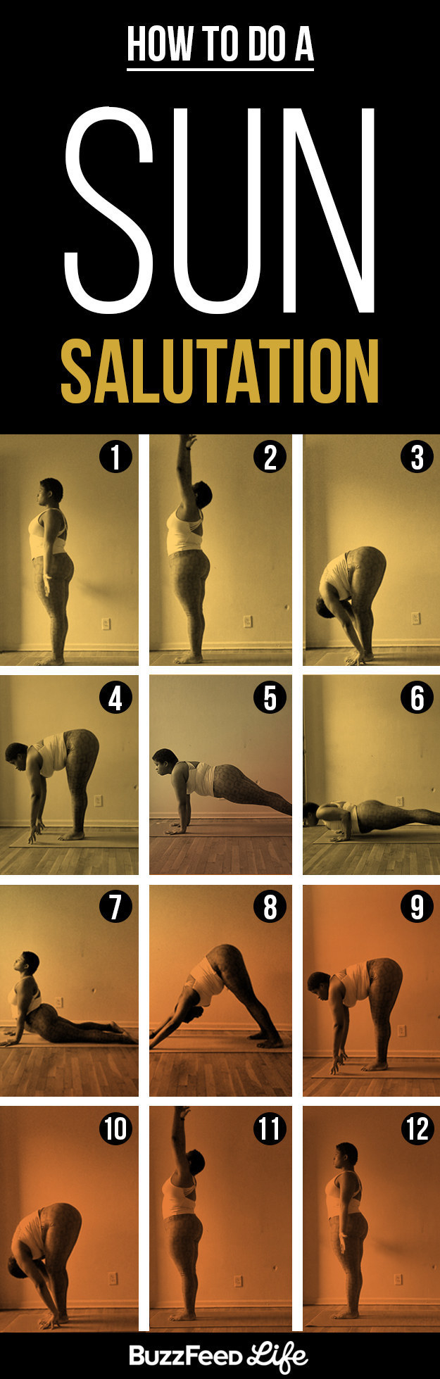 Wake up and do some light yoga to get you in the ~chill vacation~ mindset.