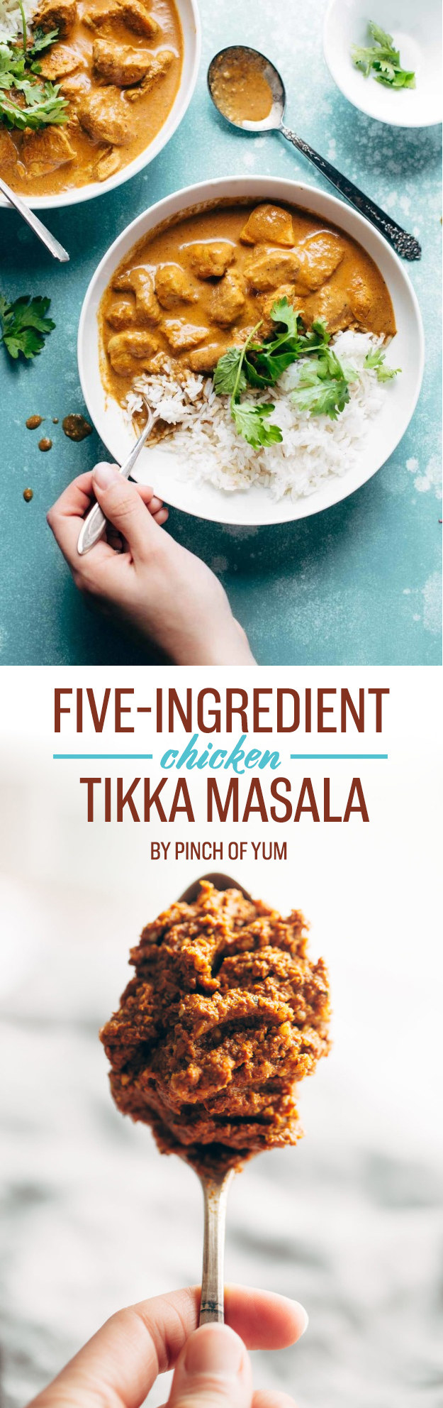 Five-Ingredient Chicken Tikka Masala