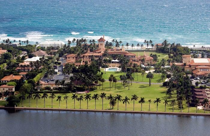 Mar-a-Lago Club, Palm Beach, Florida.