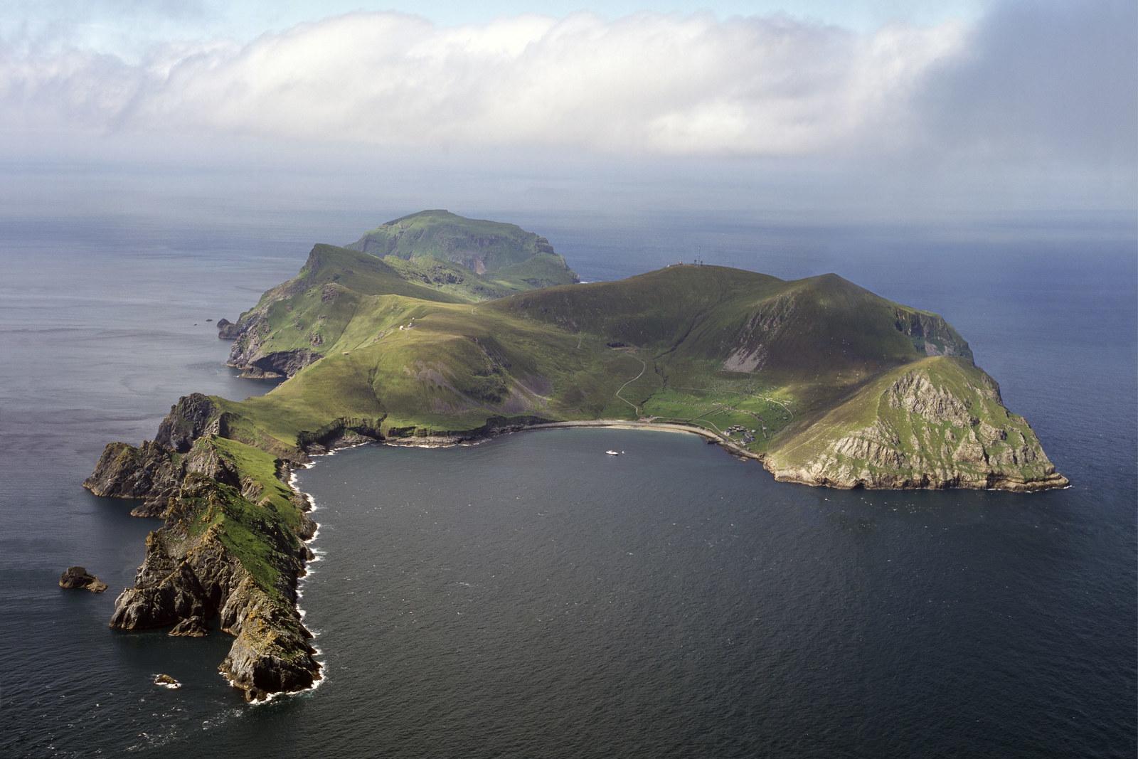 Archipelag St Kilda, Hebrydy Zewnętrzne, Szkocja