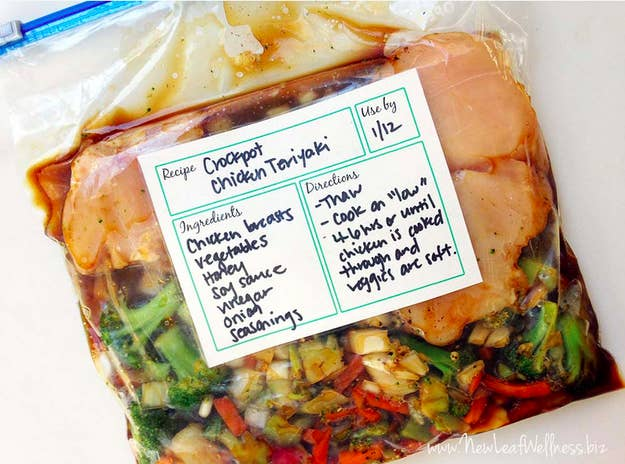 7 easy tricks for make ahead meals prep a bunch of slow cooker dump dinners that you can freeze so that youre never without dinner on a busy day forumfinder Images
