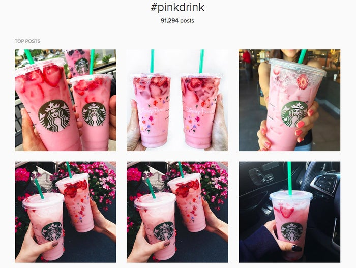 How is it possible that a Starbucks beverage is better-looking than we are?