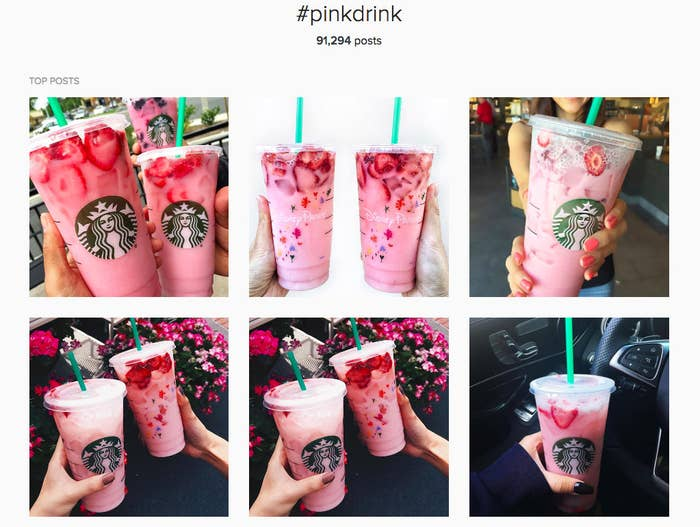We Tried The Starbucks Pink Drink And It Was Freakin