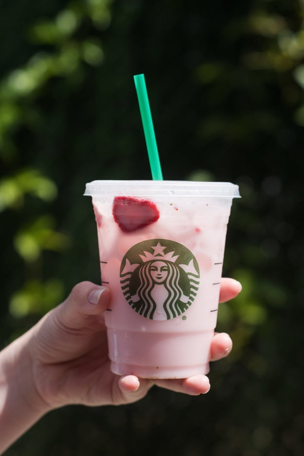 Image result for pink starbucks