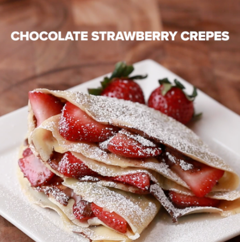 Here's How To Make Crepes Four Different Ways