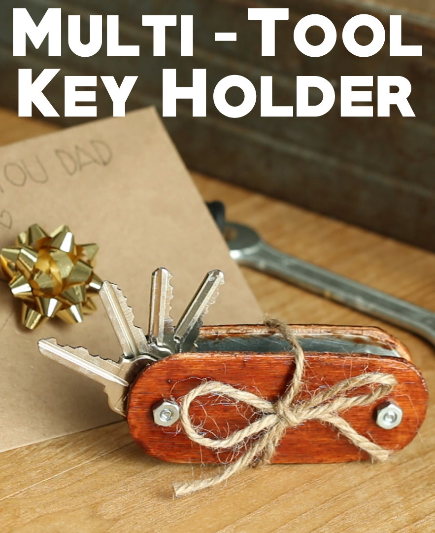 Knock Your Dad's Socks Off With These DIY Swiss Army Keys