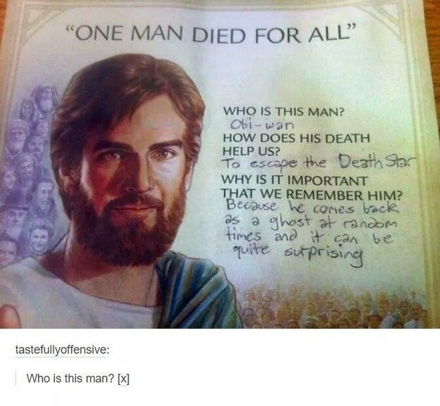 The real saviour.
