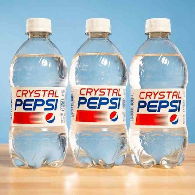 Crystal Pepsi Is Coming Back Because The '90s Are Alive And Well