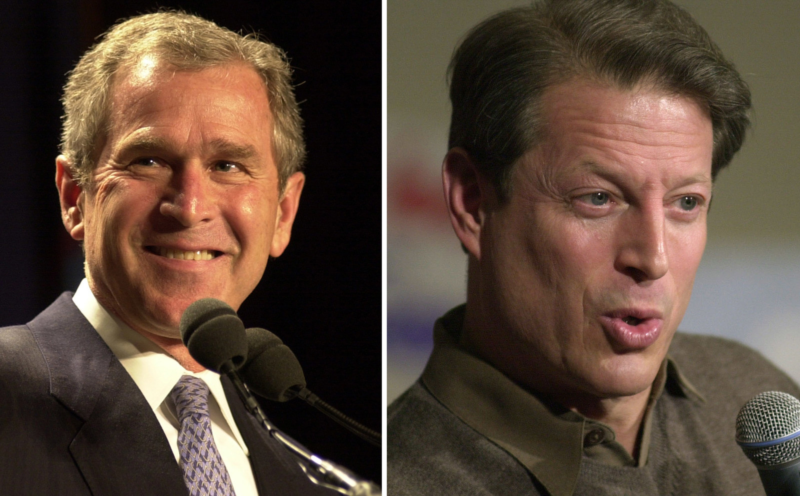 a comparison of presidential debates between bush and gore In this composite image a comparison has been made between former us presidential candidates george w bush (left) and al gore in 2000 george w bush won the presidential election to become the president of the united states in the final presidential debate wednesday.