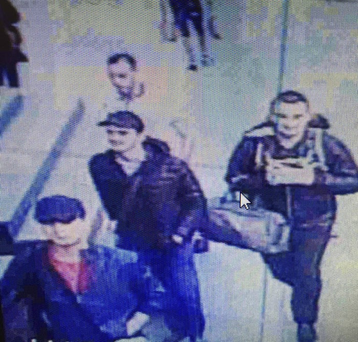 An image from CCTV video shows three men believed to be the Istanbul airport attackers.
