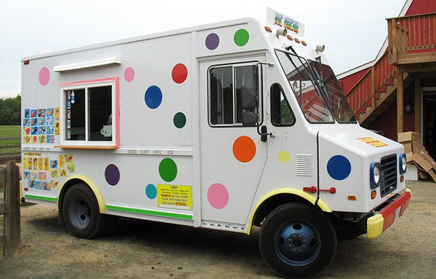 Relive your childhood, and get a treat or two from the ice cream truck. Even if the driver is a little creepy.