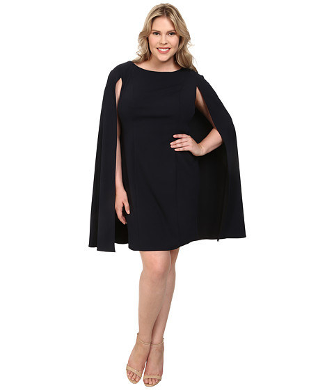 A cape dress that adds some DrAmA.