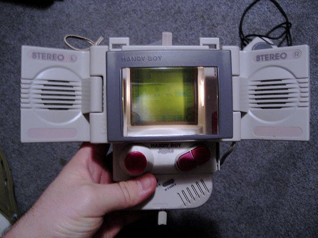Not being able to see your Game Boy's screen on a sunny day.
