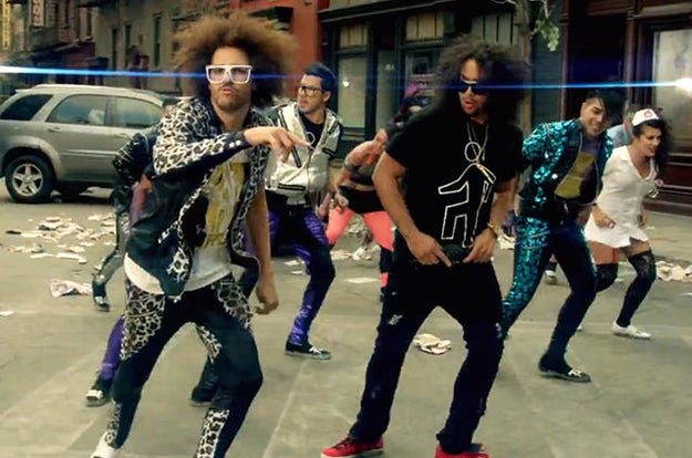 """Party Rock Anthem"" by LMFAO feat. Lauren Bennett and GoonRock"