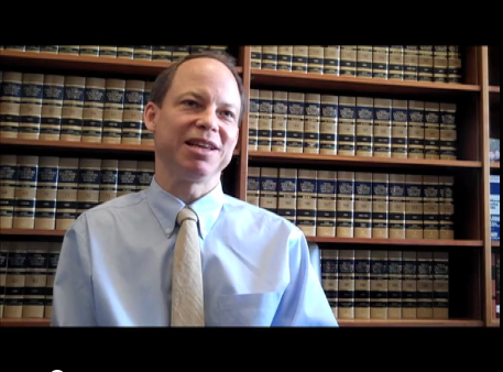 Judge Aaron Persky, interviewed by The Recorder in 2011.