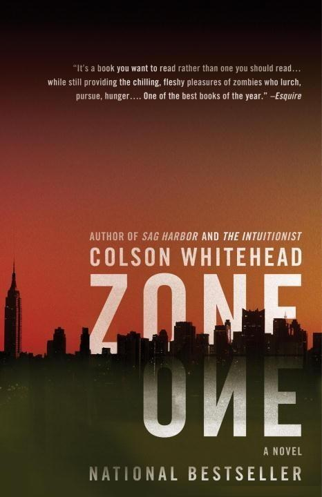 a short review of zone one a book by colson whitehead The underground railroad (novel) summary the underground railroad by colson whitehead is a semi-historical novel with several zone one the intuitionist: a.