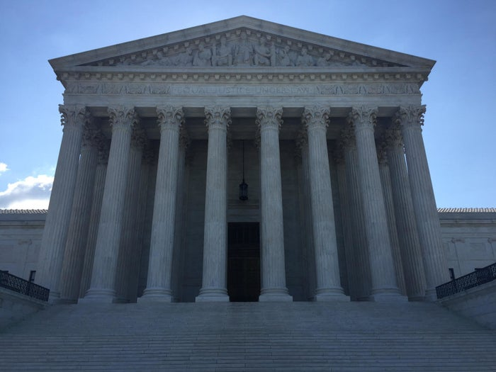 The Supreme Court building on June 6, 2016.