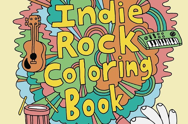 29 coloring books for people of all ages - Abbi Jacobson Coloring Book