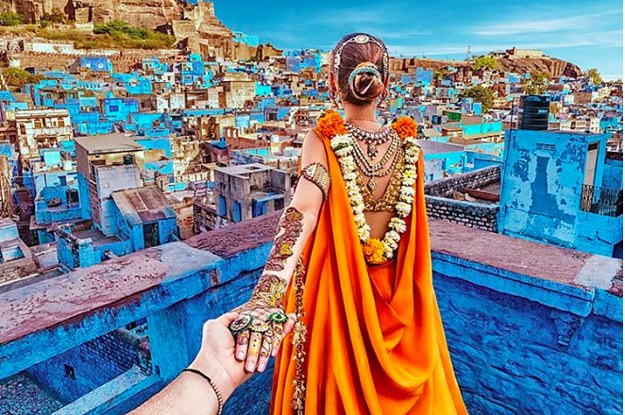 the guy who photographs his wife around the world just instagrammed