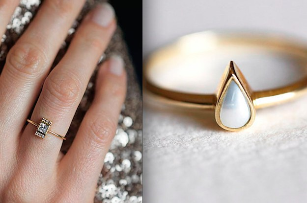 32 Impossibly Delicate Engagement Rings That Are Utter Perfection