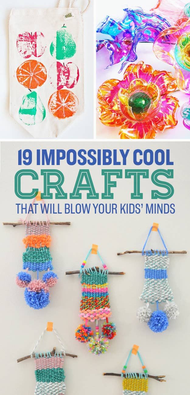 19 Impossibly Cool Crafts For Kids That Adults Will Want To Try