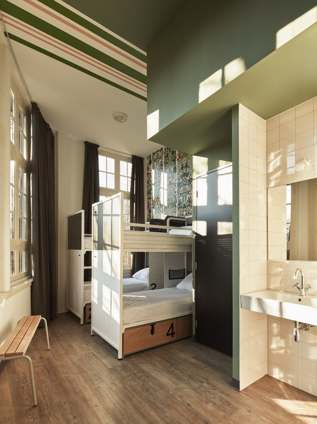 Each shared room accommodates 4 people, with an ensuite bathroom.