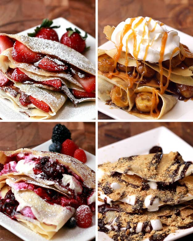 These are the most popular tasty desserts of all time 39 crepes four ways forumfinder Gallery