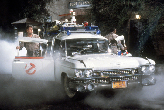 The ghost mobile used in the 1984 Ghostbusters movie, also known as Ecto-1, is one of the most iconic cars to ever grace a film set.
