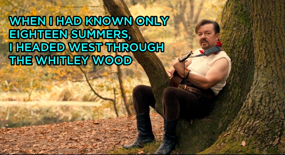 Ricky Gervais Just Brought Back The Iconic David Brent In The Most Awkward AF Music Video