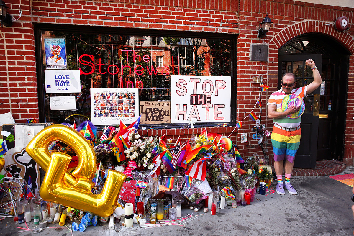 Art After Stonewall Exhilarating New York Exhibition Charts The Fight For Gay Rights