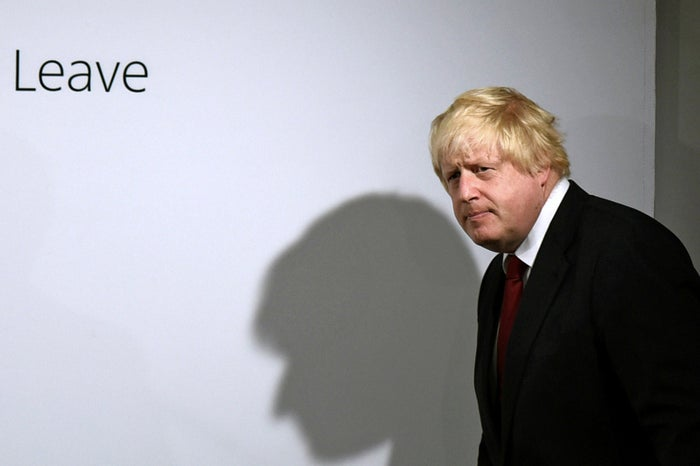 """About 10 minutes into a rambling speech yesterday about the leader required to steer Britain post Brexit, Johnson dropped his bombshell: """"I have concluded that person cannot be me."""""""