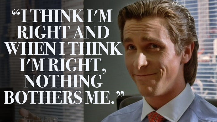 American Psycho Quotes Delectable American Psycho Quotes Brilliant American Psycho Patrick Bateman