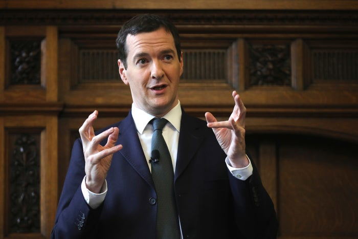 Chancellor George Osborne told the Manchester Chamber of Commerce his third fiscal rule is no more.