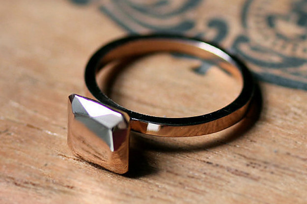65 impossibly beautiful alternative engagement rings youll want to say yes to - Alternative Wedding Rings