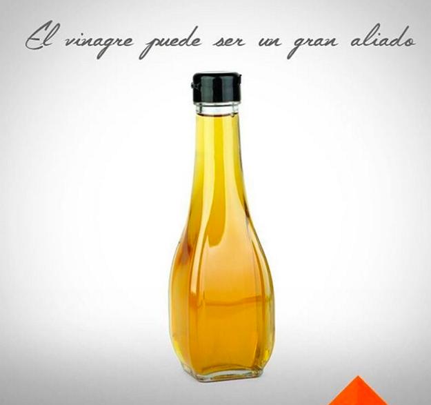 Utiliza un poco de vinagre como jabón para quitar la grasa pegada en ollas y sartenes.