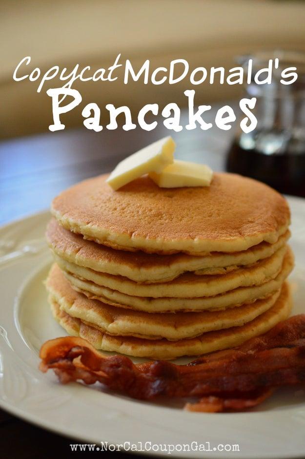 McDonald's Pancakes