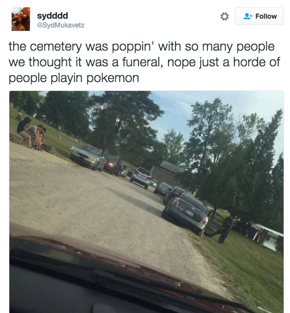 In case you didn't know, cemeteries are all the rage right now.