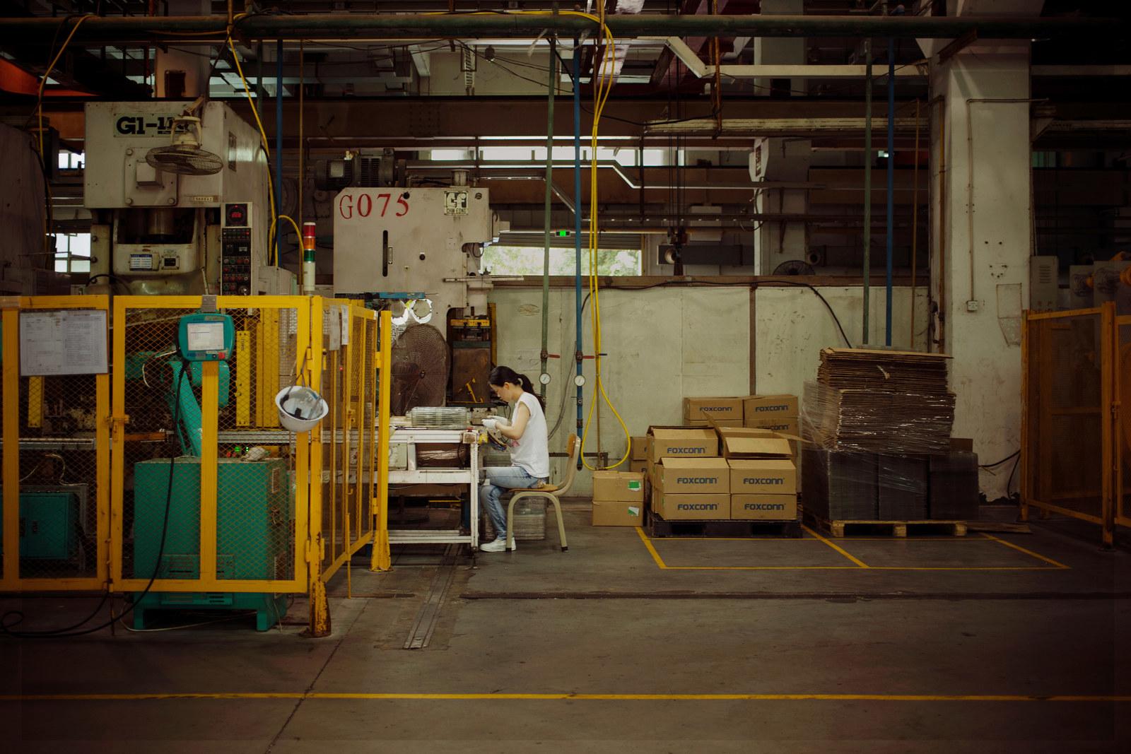 Fotos raras mostram como é o interior da fábrica onde o seu iPhone é feito