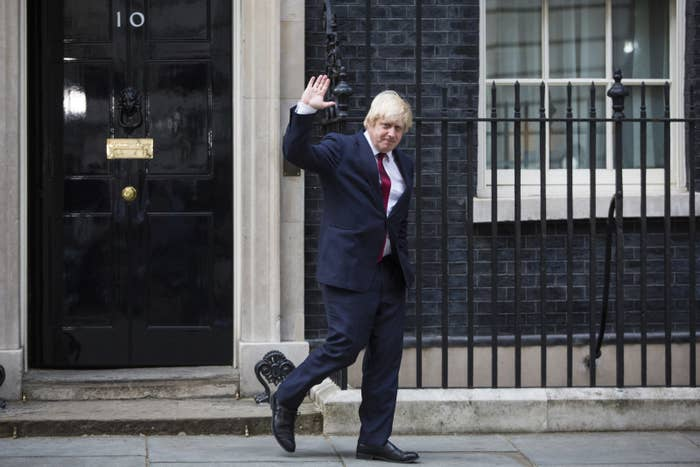He was in the running to be prime minister himself before withdrawing in a shocking turn of events soon after the vote. He's now going to be the person leading the negotiations with the European Union for Britain's exit so sometimes life just finds new ways to surprise and/or disappoint us.