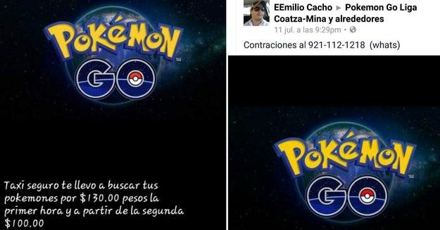 En Coatzacoalcos, te llevan a buscar Pokémon de forma segura.