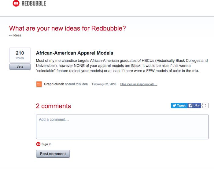 37059db4 She said she reached out to Redbubble and the company told her to discuss  it in a forum where people ...
