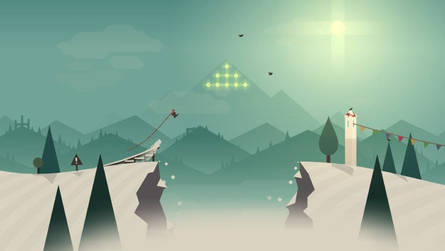 Alto's Adventure ($4, iOS and Android) is a gorgeous snowboard-themed game that'll take you through alpine hills and woodlands.