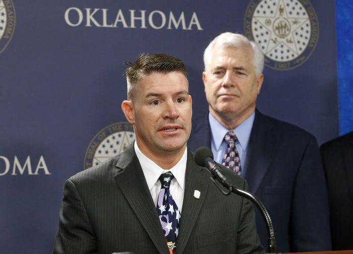 Oklahoma state Rep. John Bennett, R-Salisaw, at a news conference in Oklahoma City in 2013.
