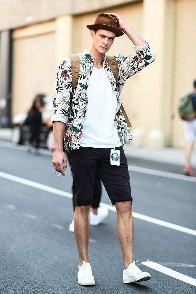 71f194b47 18 Trucos de moda para hombres directamente desde las calles de ...