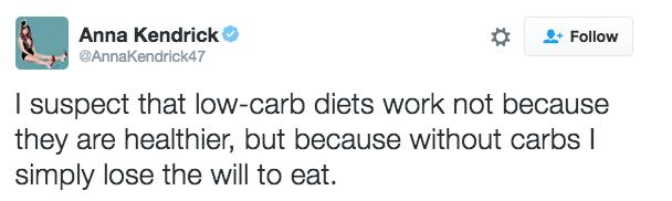 """Y, definitivamente, no quieren debatir acerca de cuál dieta es la """"mejor""""."""