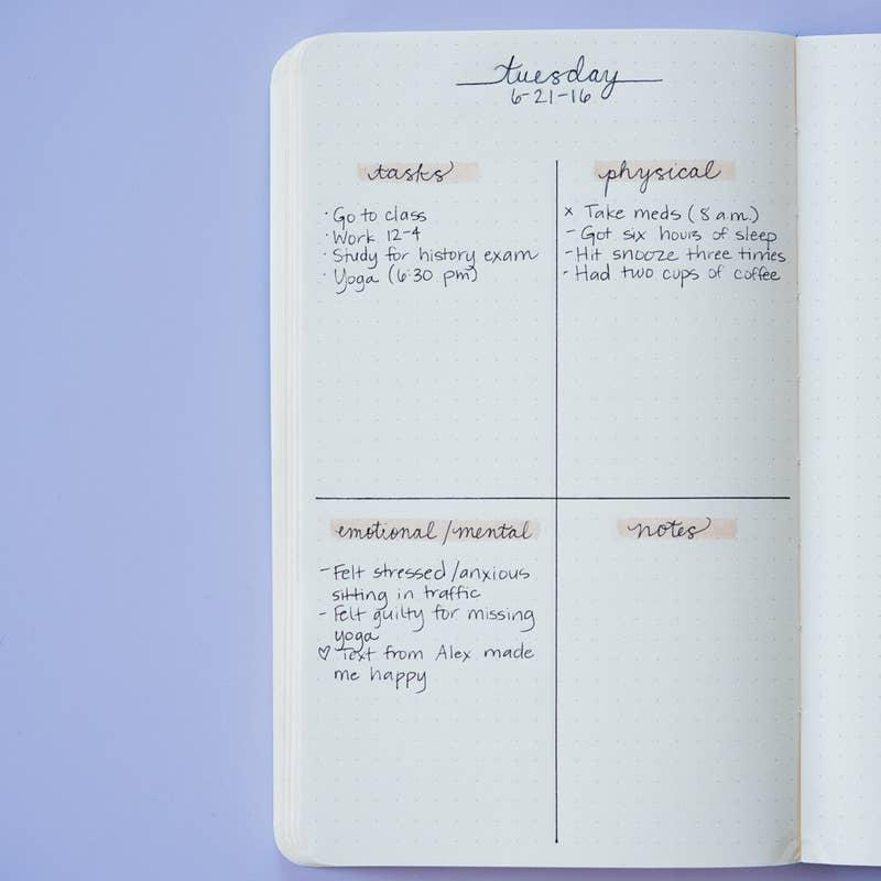Bullet Journal Minimalist style - task list