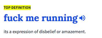 Welp, fuck me running.