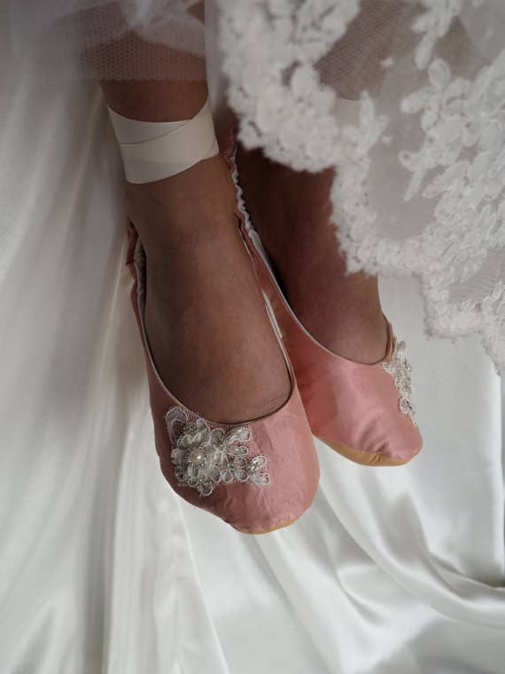 8abdb05376656 42 Pairs Of Wedding Flats To Keep You Comfy   Cute On Your Big Day