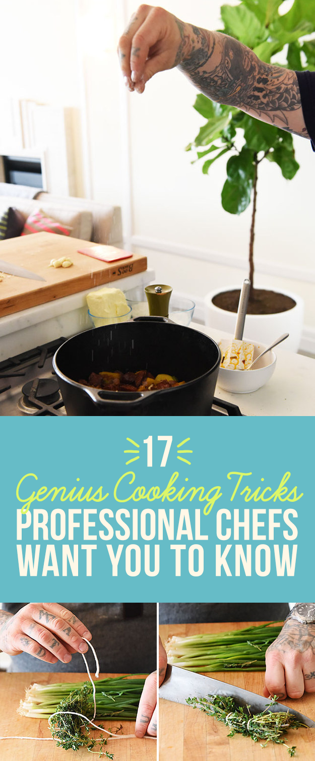 photo 26 Cooking Tricks to Steal from the World's BestChefs