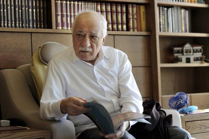 Fethullah Gulen, at his residence in Pennsylvania.